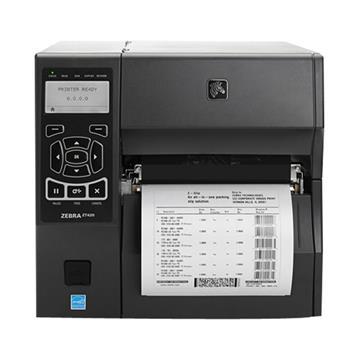斑马Zebra ZT420  300DPI 宽幅工业标签打印机